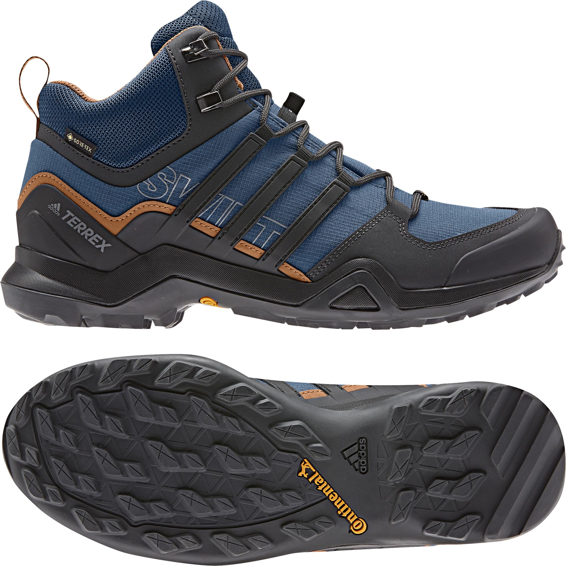 adidas TERREX Swift R2 Mid GTX Shoes Herren legend marinecore blacktech copper